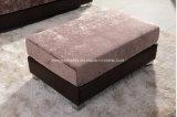 Freizeit-Sofa mit dem Metallbein für das Einzelhandelsgeschäft, Schemel