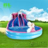 Надувные Forzen тема водные горки в лето с бассейном