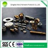 Service de fabrication de métal fait sur mesure de précision en acier inoxydable d'usinage CNC de pièces en aluminium