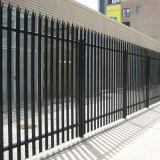 China Últimas venta mayorista de tipo D y W colorida o valla de acero galvanizado empalizada