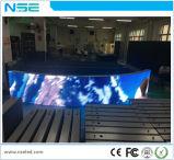Grosse bekanntmachende Installation LED-Bildschirmanzeige der Anschlagtafel-P10mm im Freien örtlich festgelegte