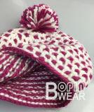Design clássico todos mão personalizado de malha de croché Beanie Hat