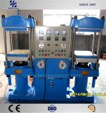 Pressione Vulcanização Twin automática com estrutura compacta