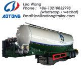 Los ejes 2 gran volumen de cemento a granel cisterna camión cisterna semi remolque