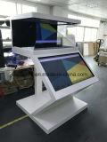 3D голографическая проекция рекламы на дисплее