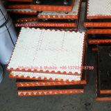 Haltbare keramische und Gummizwischenlagen