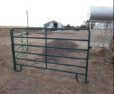 Черный порошок покрытие 5footx10ноги используется панель управления/Corral скота крупного рогатого скота лошадей панели