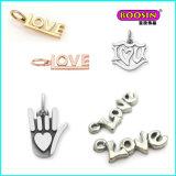 Pendente poco costoso della collana dell'argento della mamma di amore del commercio all'ingrosso su ordine della lega