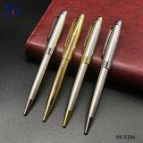 卸し売り昇進のペンの銀および金の金属のギフトの球ペン