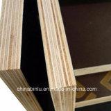 18mm de espesor de película de color marrón/negro enfrentan Construcción impermeable contrachapado de madera contrachapada frente/Película/encofrados de madera contrachapada de los precios de la hoja