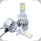 영장 1 Yeas LED 헤드라이트 7600lm H7 LED 표시등 막대를 붙드십시오