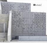 Color en pierre Aluminum Panels avec PVDF Coating pour Exterior Decoration