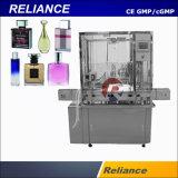 Imbottigliamento di vetro del profumo di fragranza e macchina di coperchiamento