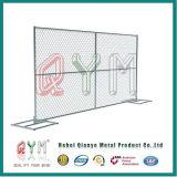 Recinzione provvisoria portatile della rete fissa provvisoria rivestita della costruzione del PVC di alta obbligazione