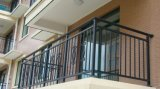 Загородка/утюг балкона ковки чугуна ограждая стальную панель строба загородки/усовика/загородки утюга/загородки