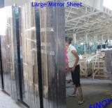 3mmから6mm水Proof Clear Silver Coated Mirror Glass