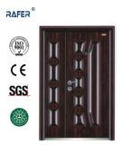 Egyption vender melhor mãe filho porta de aço (RA-S133)