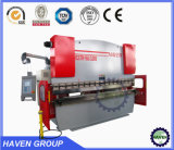 WC67Y 200/2500 Hydraulische Industriële bedsheet die van de Staalplaat machine vouwen