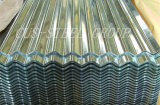 Hoja de acero galvanizada acanalada del soldado enrollado en el ejército caliente del azulejo de azotea del metal/de la venta de África