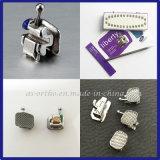 Ortodoncia MIM Mini Auto ligar los soportes con la fabricación de alta calidad