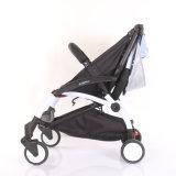 Dobrável e marquise destacável carrinho de bebé 008