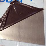 430 304 316 Hojas de acero inoxidable del grado Brush No. 4 Acabado