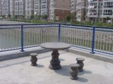 Загородка нового типа декоративная алюминиевая/алюминиевая загородка рельсов для сада