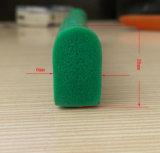 Buena elasticidad de la junta de esponja de goma de silicona de Gaza
