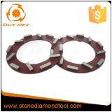 콘크리트를 위한 240mm 분단된 Klindex 다이아몬드 가는 반지