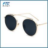 Les lunettes de soleil colorées de mode faite sur commande vendent la lunetterie en gros