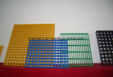 El FRP/fibra de vidrio/rejilla de plástico GRP con rejilla antideslizamiento