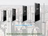 55 pouces LCD Lecteur multimédia de la publicité à l'intérieur, d'affichage vidéo couleur LED de signalisation numérique permanent de plancher