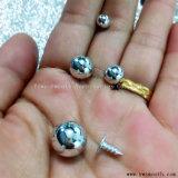 Comercio al por mayor de tocado colgante de perla de bricolaje con reborde de la tapa de remache de accesorios de prendas de vestir