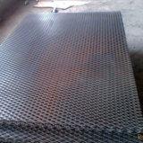 Malha de metal expandido quadrados