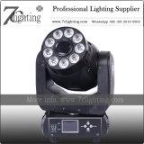 Lavage de 75 Spot 2 à 1 LED Déplacement de l'éclairage de la tête RGBWA+couleurs UV