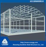 Costruzione personalizzata costruzione prefabbricata della struttura d'acciaio dell'ampia luce