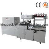Tunnel automatique L machine de rétrécissement d'emballage en papier rétrécissable de la chaleur de mastic de colmatage