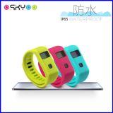 Многофункциональный Wristband Smartband Bluetooth монитора спать