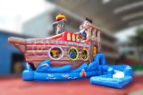 Jouets gonflables à eau gonflable Pirate Jacky Water Slide (CHSL415)