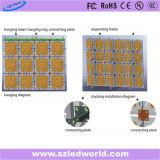 Tela ao ar livre/interna da fundição P6 do arrendamento do diodo emissor de luz de indicador para o vídeo que anuncia (640X640, CE, RoHS, FCC)