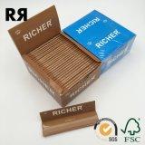 14GSM無漂白の(ブラウンの)タバコのロール用紙