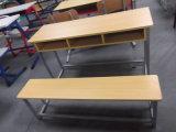 Trois sièges en bois Combo Bureau et chaise de l'école (SF-39D)