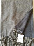 カシミヤ織のウールの倍の表面ショール