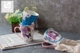 Het Drinken van de gezondheidszorg de Mok van de Koffie van het Porselein van de Mok