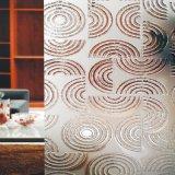 Usine de verre d'art art en verre clair Decoraitive Pattern