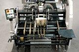 Tissu soulevant le lamineur semi-automatique de panneau de cannelure de carton