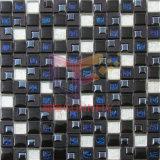 Mosaico di plastica di Trangile della miscela di vetro nera (CSR088)