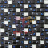 Mezcla de cristal negro Trangile mosaico de plástico (CSR088)