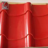 Feuille de toiture de tôle d'acier de CGCC Z60 PPGI Orrugated