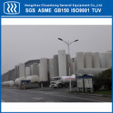 tanque de armazenamento industrial criogênico do gás 100m3